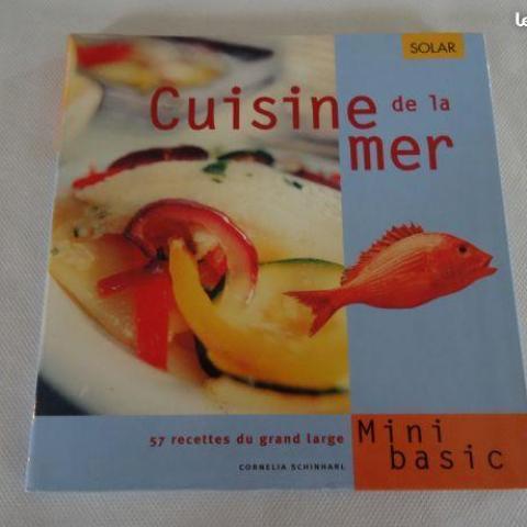 """troc de  Livre de recettes """"cuisine de la mer"""", sur mytroc"""
