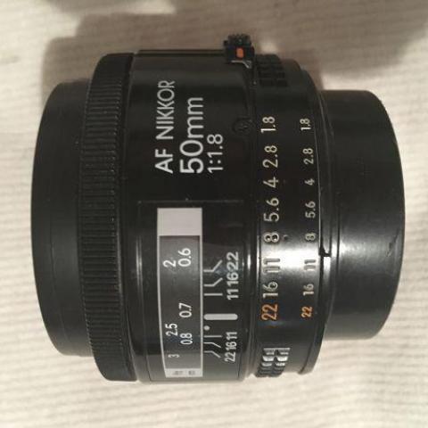 troc de  Objectif Nikon Af nikkor 50 mm 1.8, sur mytroc