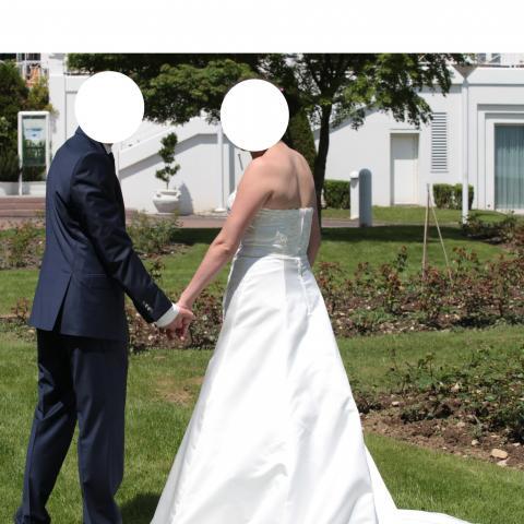 troc de  Robe mariage taille 42 Ivoire, sur mytroc