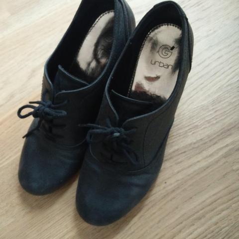 troc de  Chaussure derbies à talon noires, sur mytroc