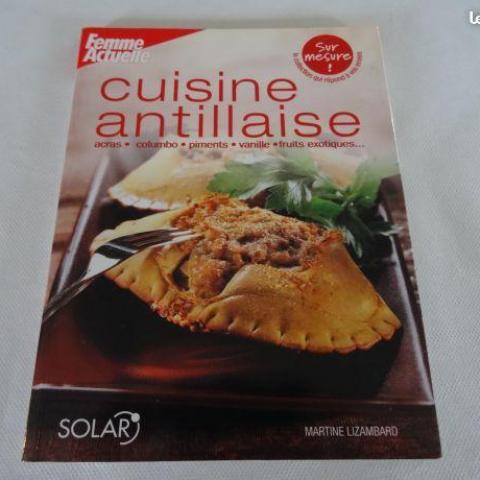 """troc de  Livre de recettes """"cuisine antillaise"""", sur mytroc"""