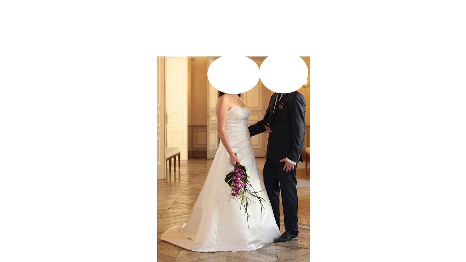 troc de troc robe mariage taille 42 ivoire image 1
