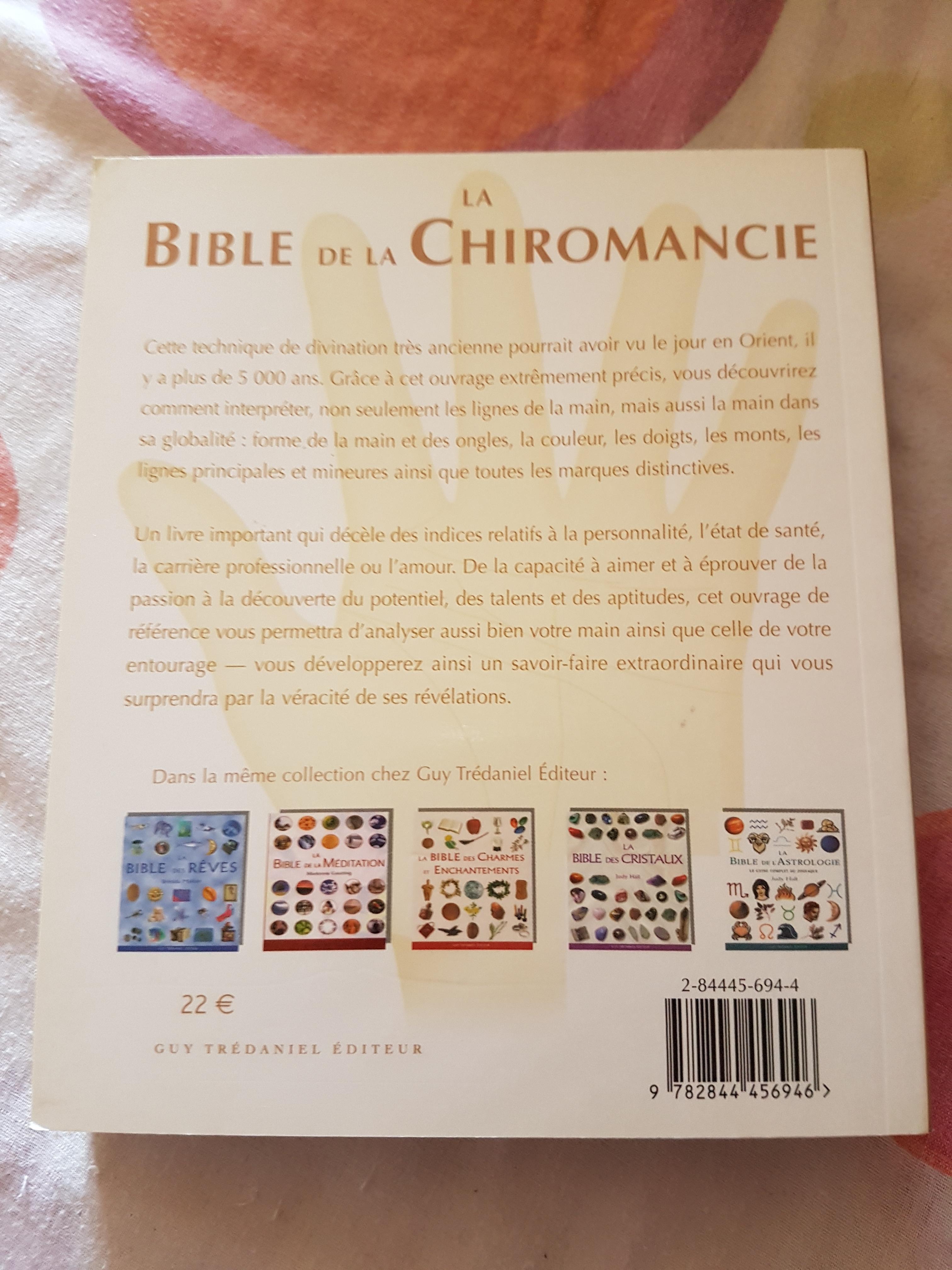 troc de troc la bible de la chiromancie image 1