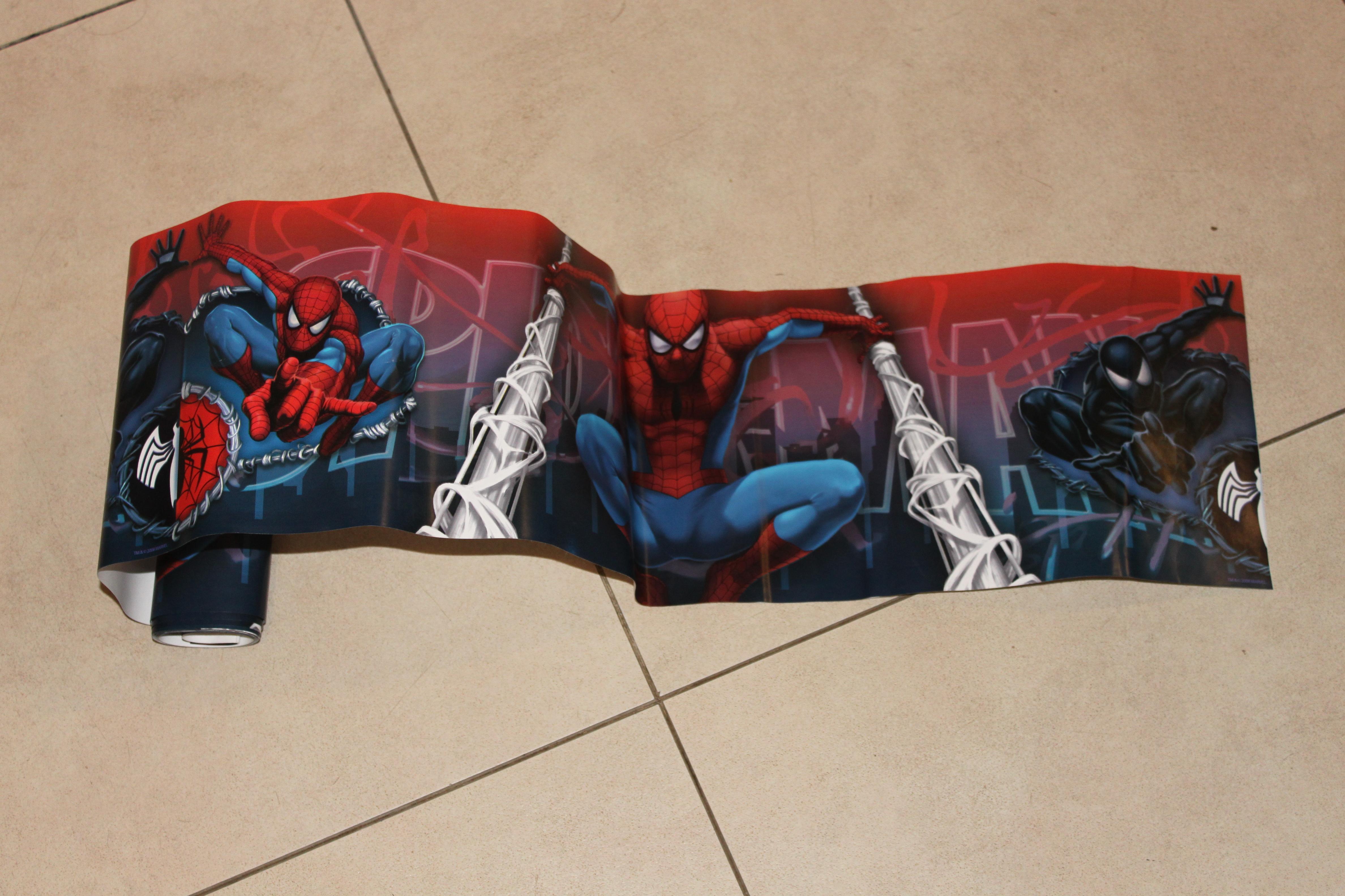 troc de troc chute de frise décorative chambre enfant spiderman image 0