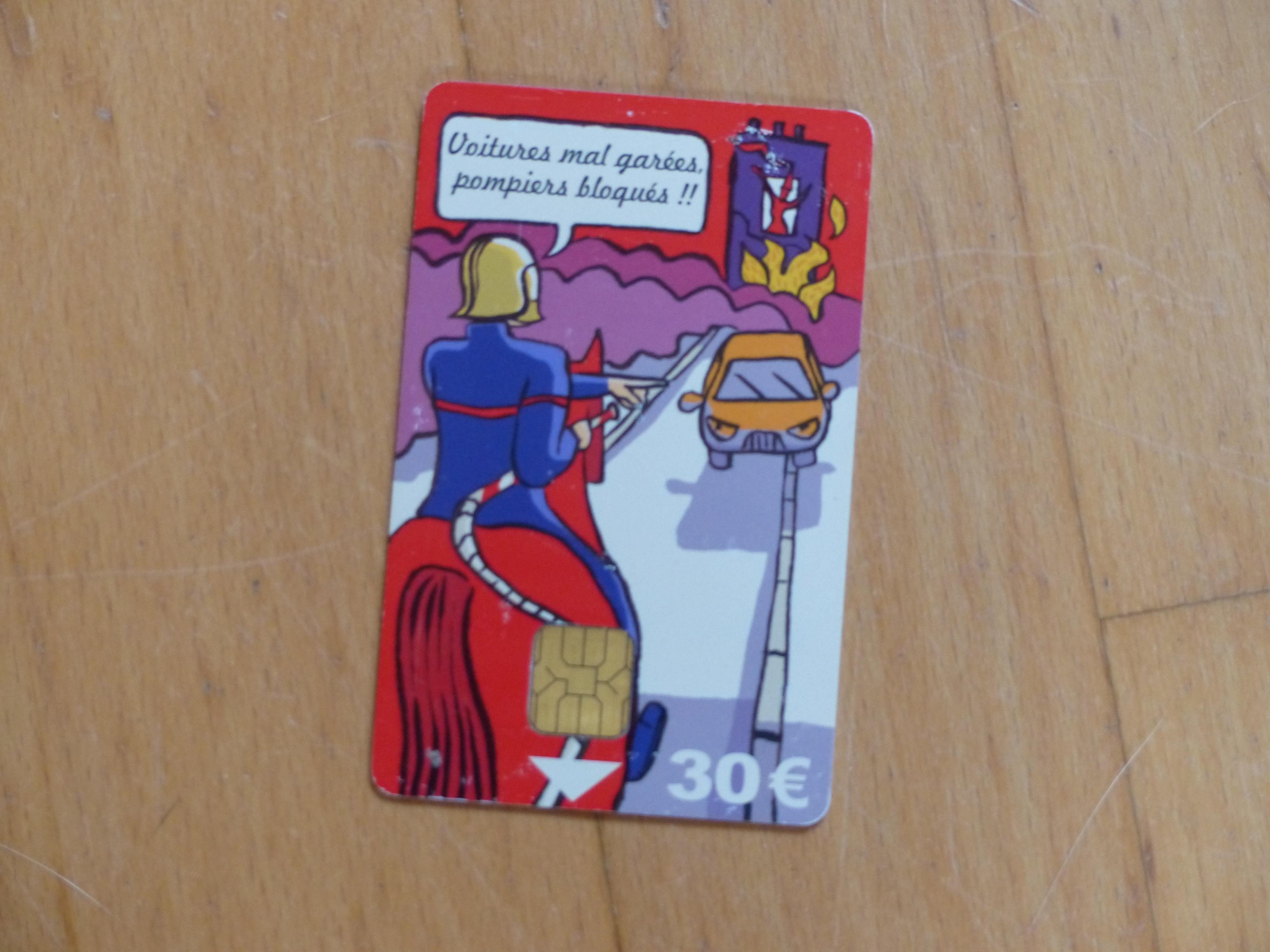 troc de troc carte de stationnement image 0