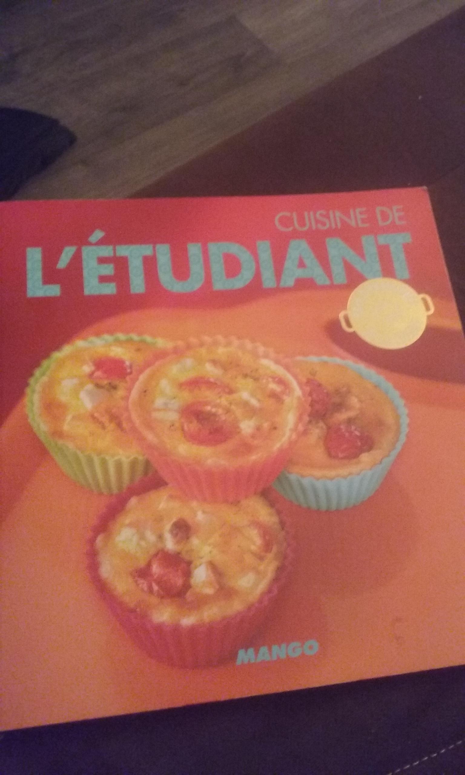 troc de troc livre de cuisine l'etudiant image 0