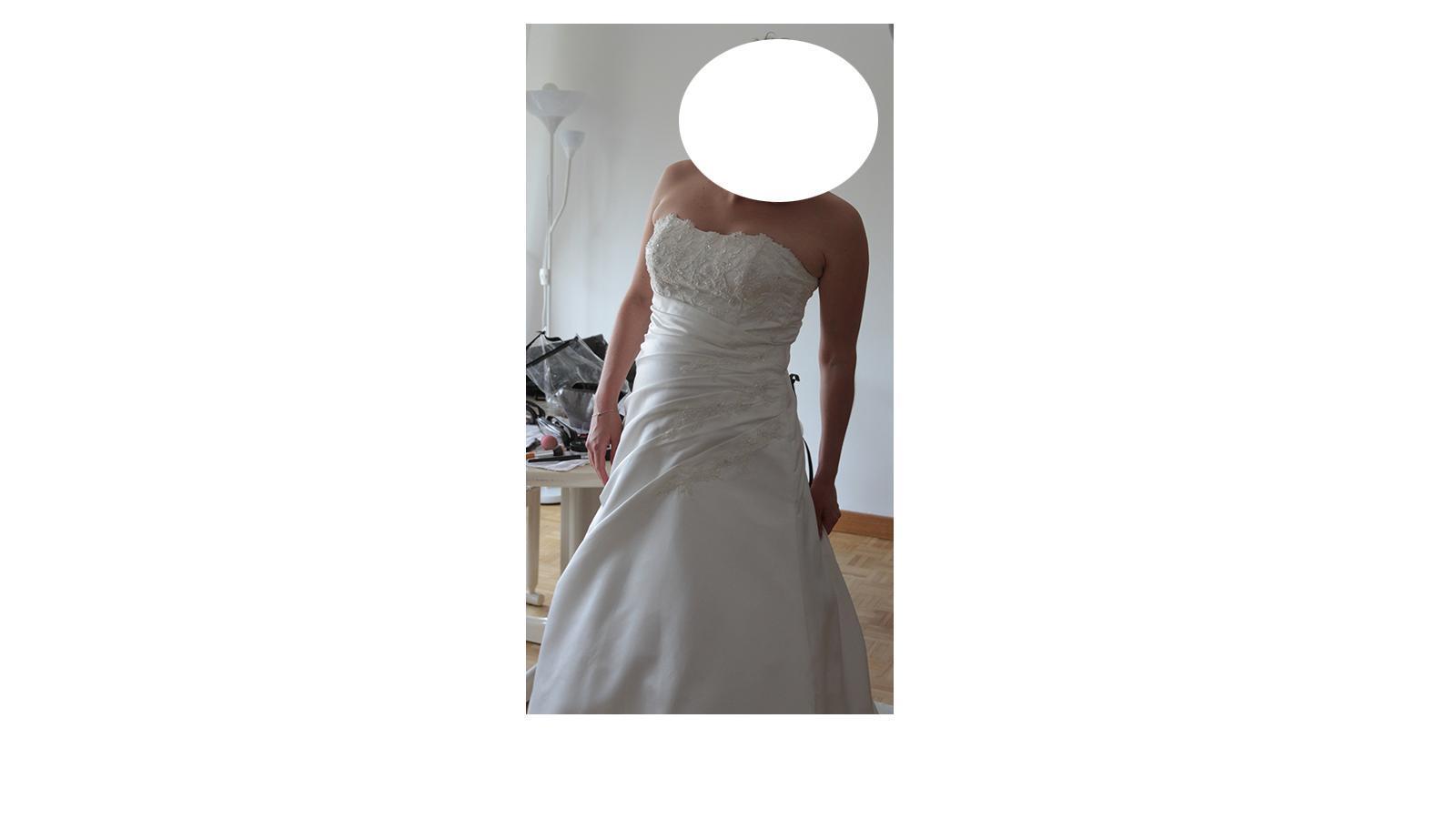 troc de troc robe mariage taille 42 ivoire image 2