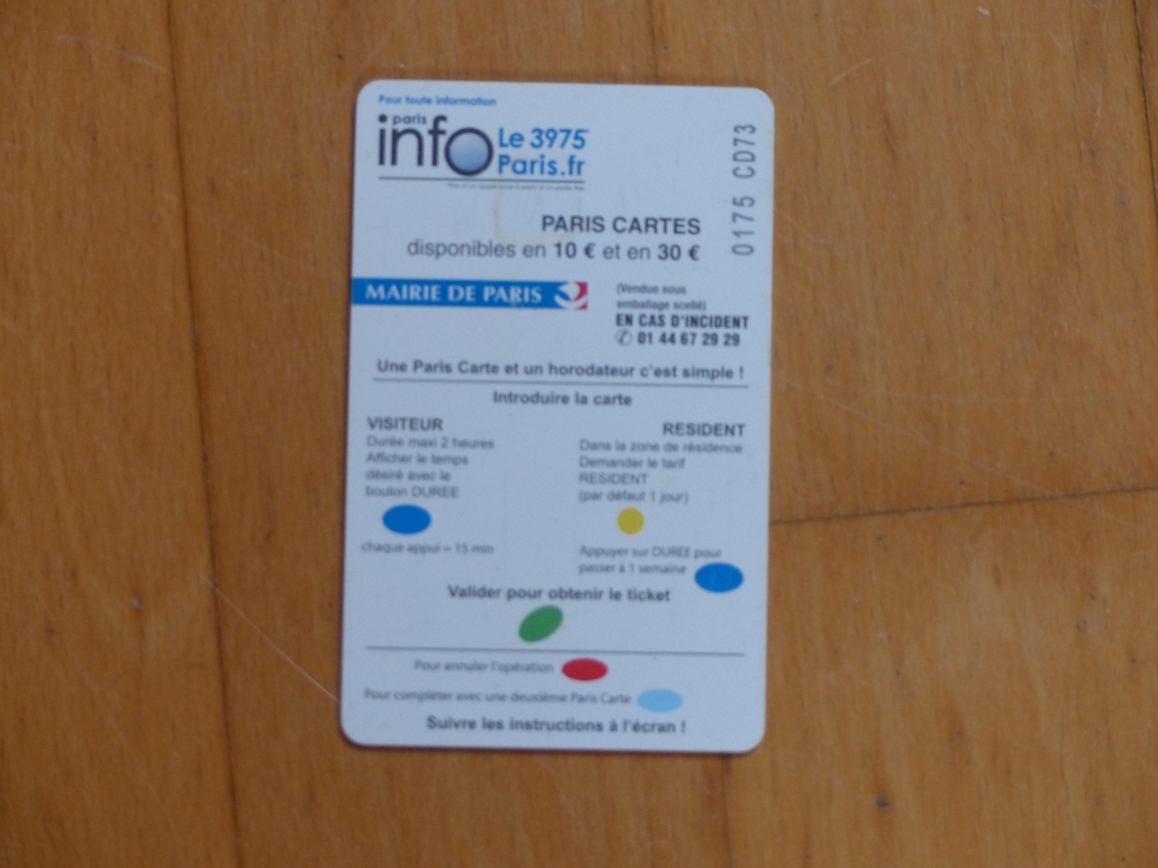 troc de troc carte de stationnement image 1