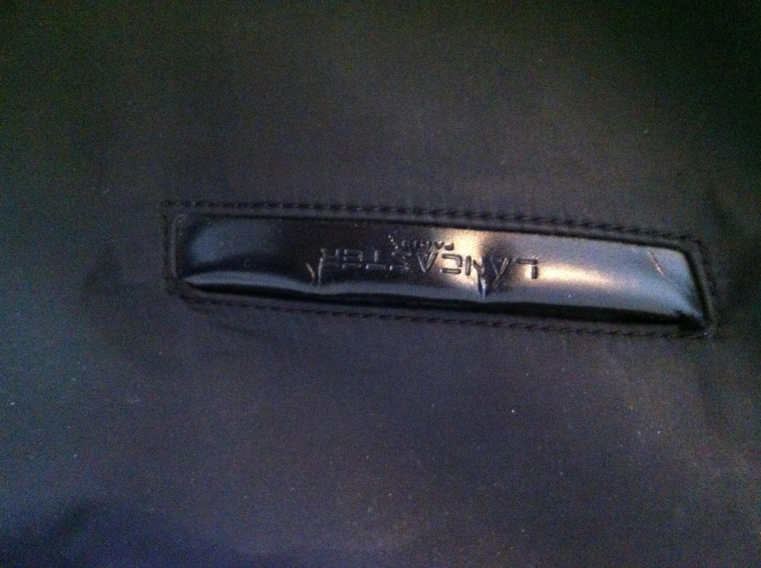 troc de troc sac noir bandouilère lancaster image 2