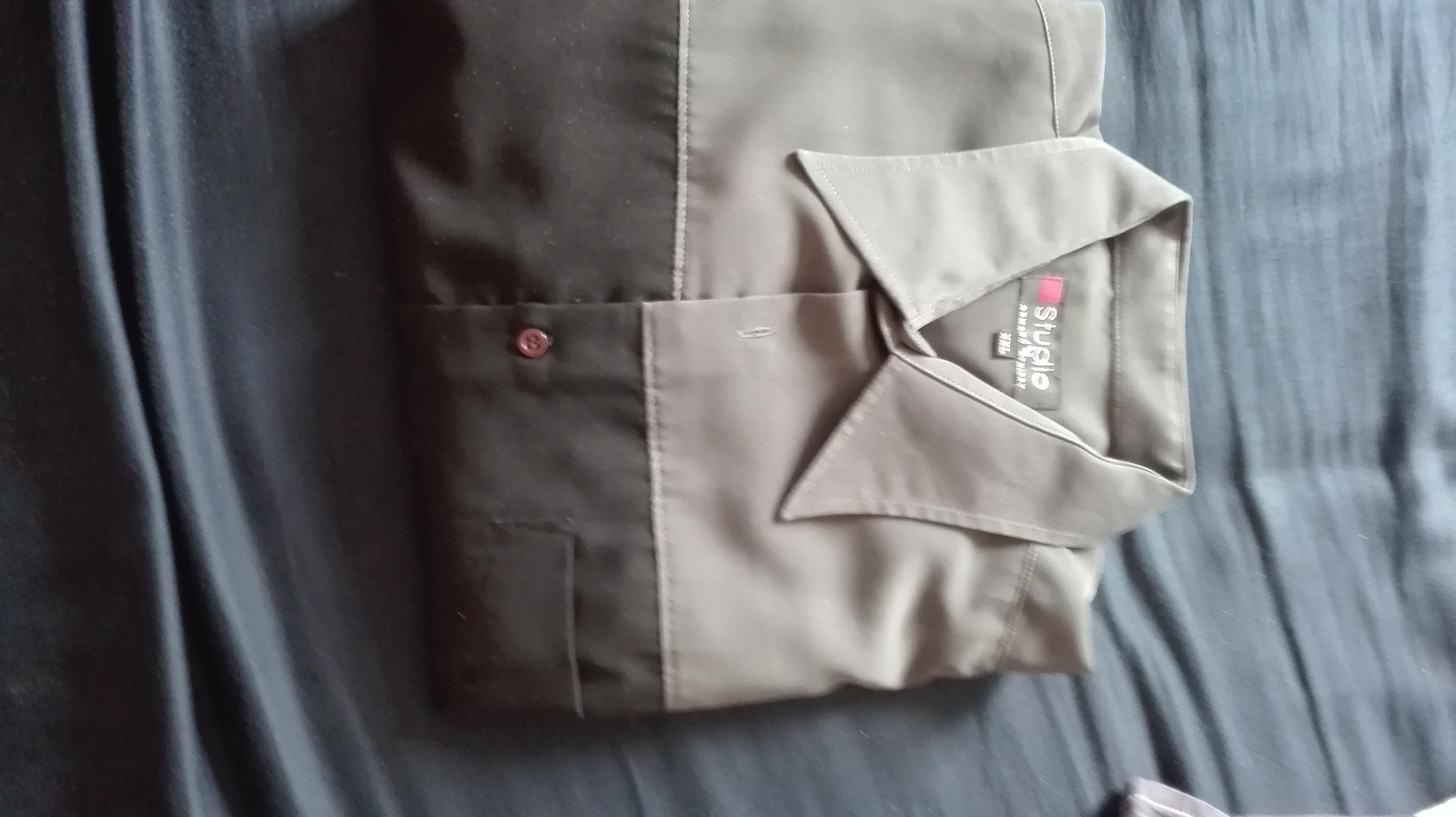 troc de troc chemise bicolore image 1