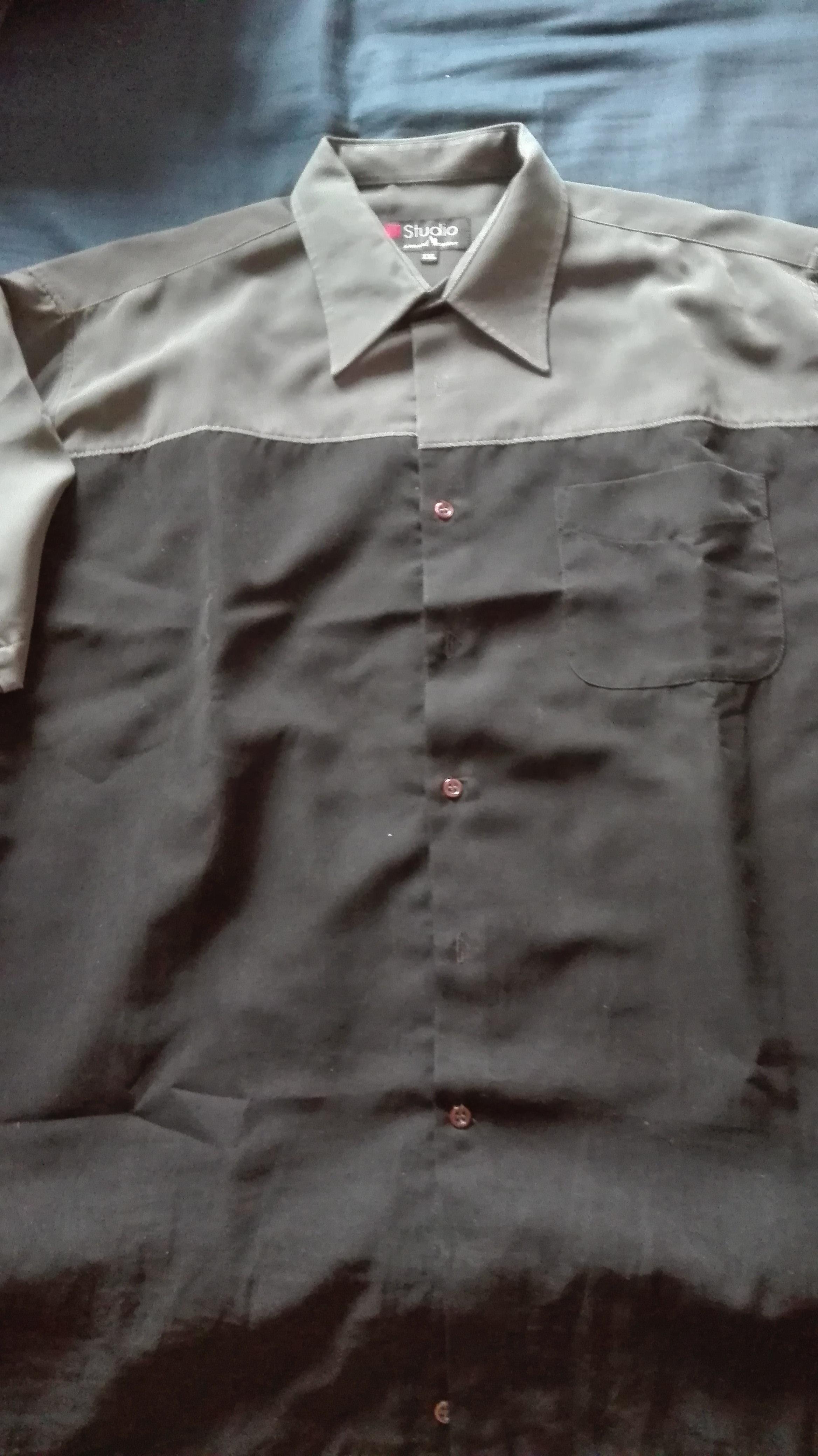 troc de troc chemise bicolore image 0